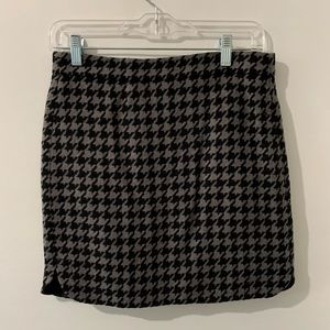 Jcrew || houndstooth skirt